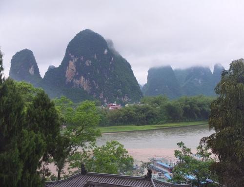 Xingping, paseando por el río Li