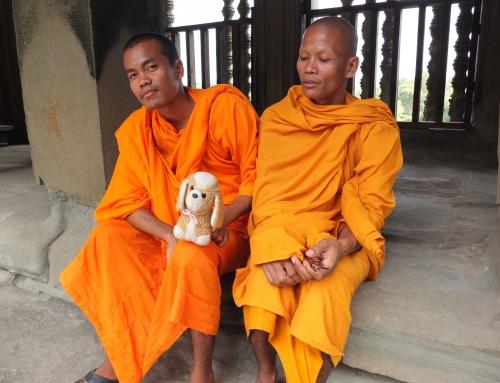 Desde Bangkok  hasta a Siem Reap, pasar la frontera a pie.