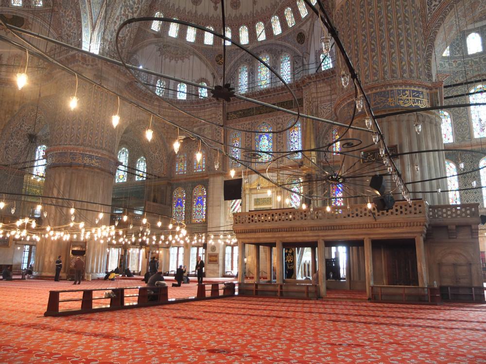 mezquita-azul-interior