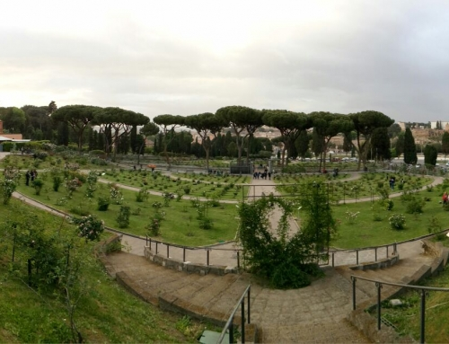 "El ""Roseto Comunale"", llegó la primavera a Roma"