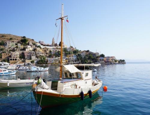 Symi, en Grecia, la isla que no te esperas.