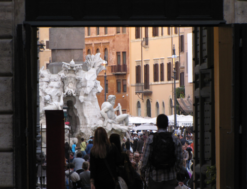 Roma a pie, ruta por el centro de la ciudad