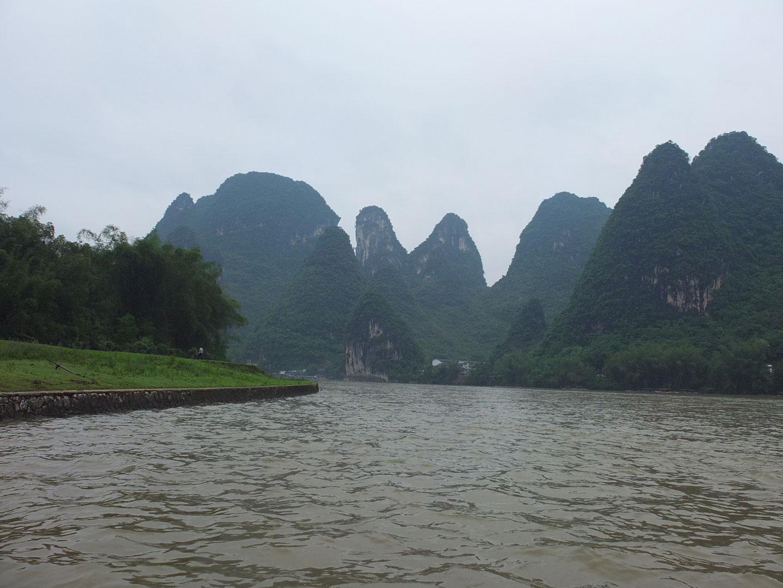 Xingping – Guilin – Xi'an, día pasado por agua!