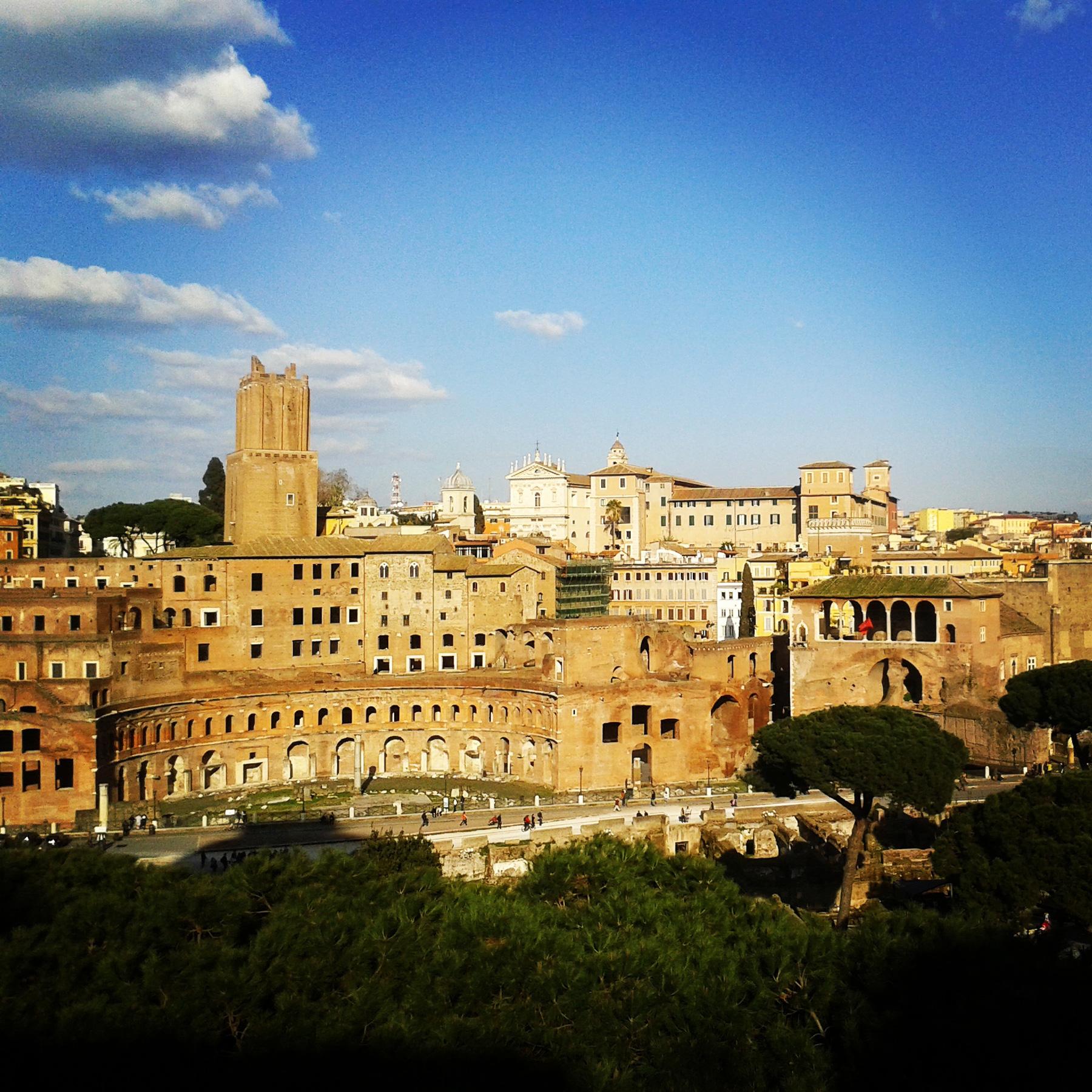 Roma y sus 7 colinas