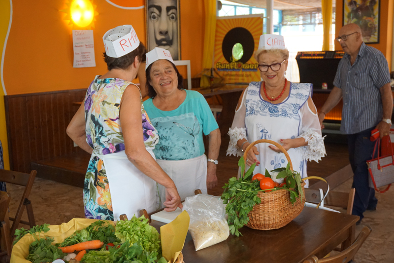 """Las """"azdore"""", abuelas de Emilia Romagna, son unas rockeras"""